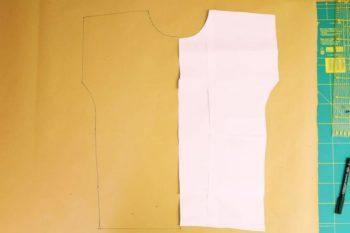 Tutorial Shirt mit lockerem Rückenausschnitt von einfach nähen