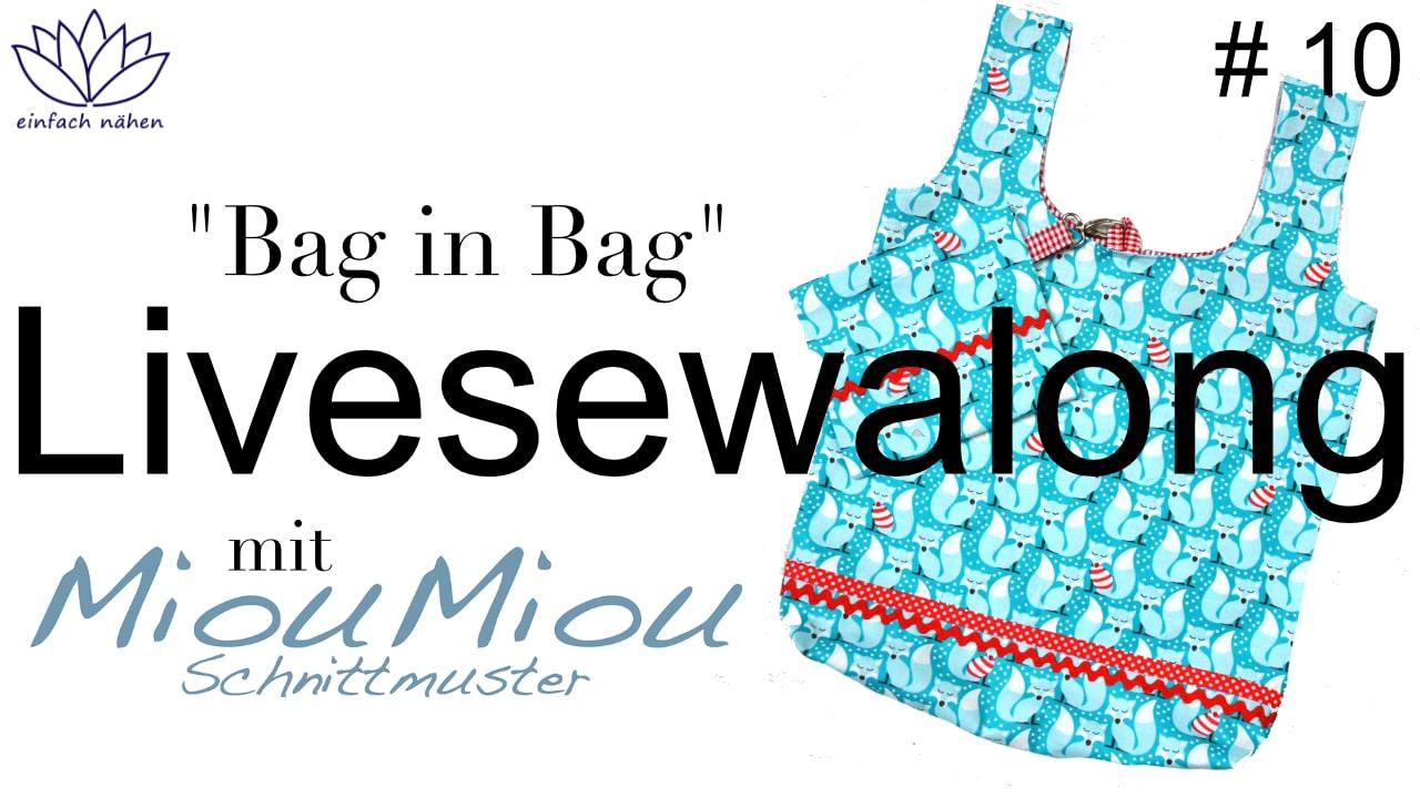 einfach nähen MiouMiou Bag in Bag