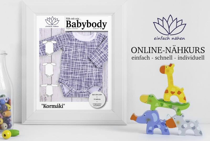 Babybody Kormaki | Videokurs | einfach nähen