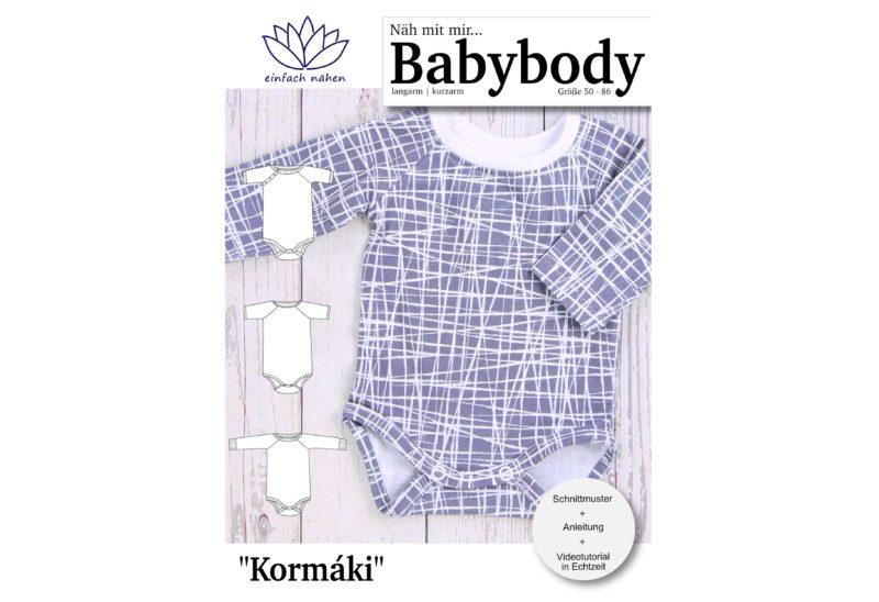 Babybody Kormaki | nähen lernen |einfach nähen