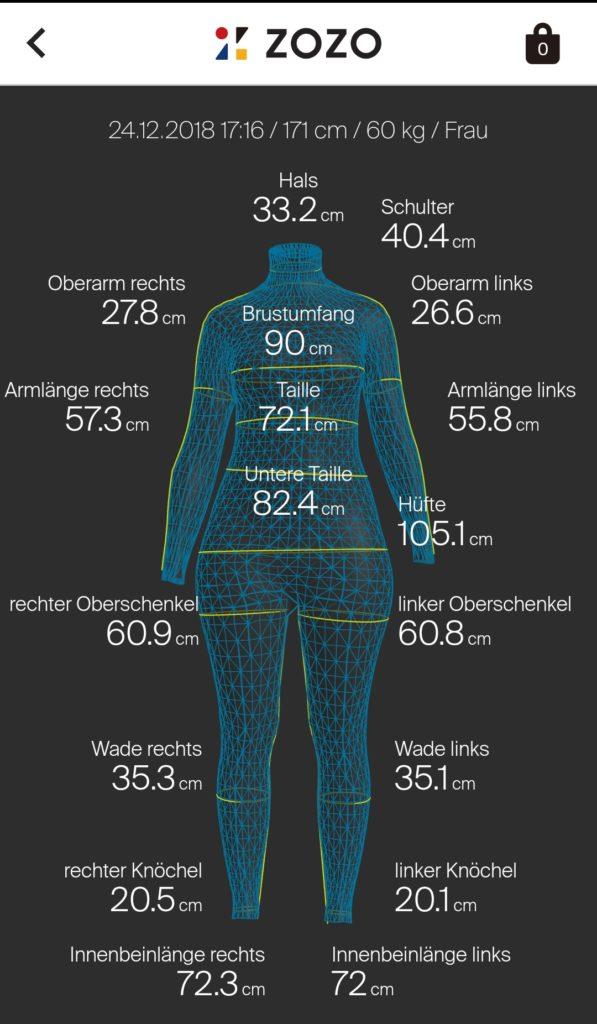 Zozosuit Körper ausmessen | einfach nähen - Tipps und Tricks rund ums Nähen für Anfänger und Fortgeschrittene
