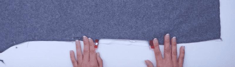 seitliche Eingrifftasche mit Reißverschluss | einfach nähen lernen - Tipps und Tricks rund ums Nähen für Anfänger und Fortgeschrittene